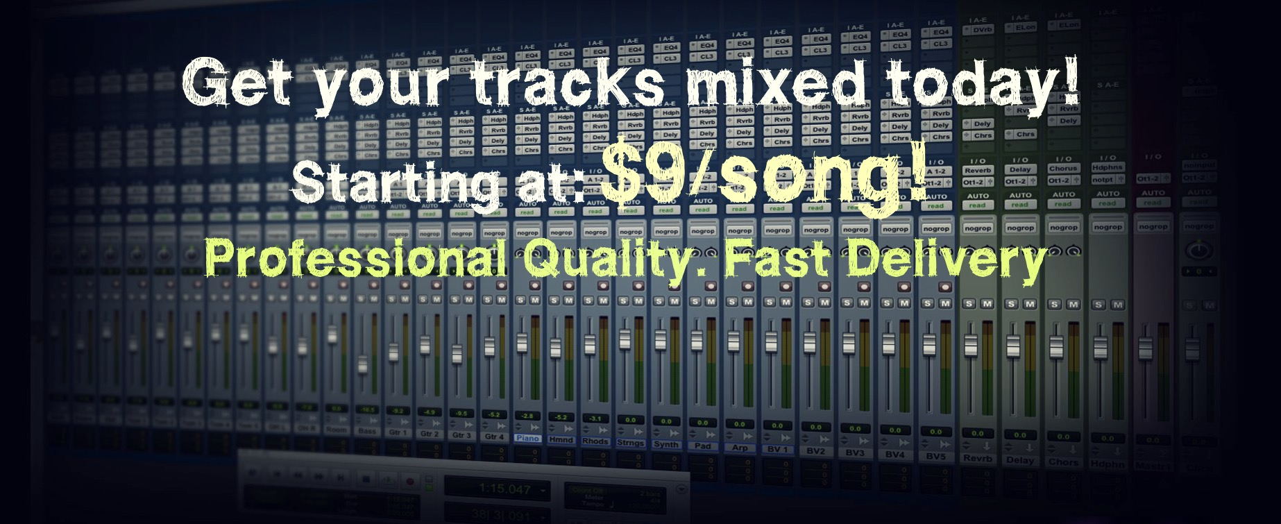 Mixing Services